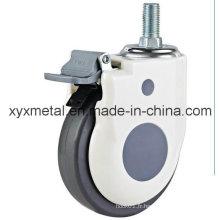 America Single Ball Beading Metric Imperial Thread Plastic PU Medical Caster