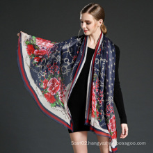 Silk Georgette Scarves for Woman