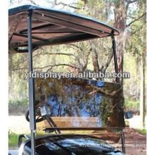 Pare-brise de voiture de golf divisé par acrylique teinté pour le chariot de golf de YAMAHA G22