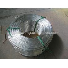 A1050 HO aluminum flexible tube,aluminium Pipe for heat exchangers