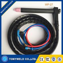China fabricante alta calidad wp-27 refrigerado por agua tig soldadura antorcha