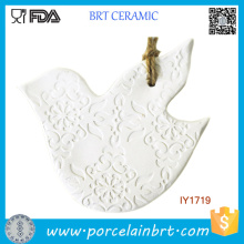 Ceramic White Pigeon Christmas Tree Decoration Christmas Ornament