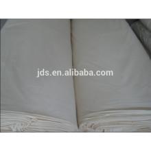 Tela de algodón puro gris para la fabricación de sábanas