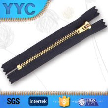 #4 Metal Brass Zipper Yg Slider