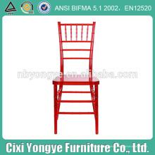 Resina de plástico Chiavari silla con precio directo de fábrica