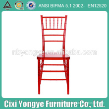 Resin Plastic Chiavari Chair with factory direct price