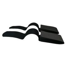 Winter Sports Black Ski Straps