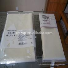 almofada de borracha do tapete do revestimento em deslizamento tapetes orientais laváveis
