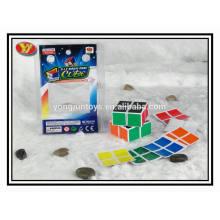 YongJun caja personalizada rompecabezas mágico 2x2 cubo