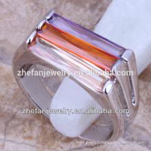 Femmes anneau argent plaqué laiton knuckles Chine bijoux en gros