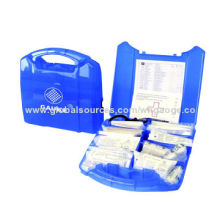 First-aid Box for Office, DIN13164 GKB102, CE, ISO, FDA, BSCI and DIN, Any Color Available