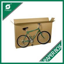Caixa ondulada grande de empacotamento da logística da caixa de transporte da bicicleta / bicicleta de Kraft