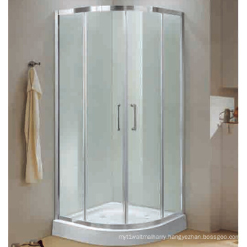 Easy Installation Sliding Door Tempered Shower Enclosure