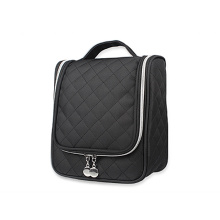 Mode luxe polyester gewatteerde hangende make-up tas