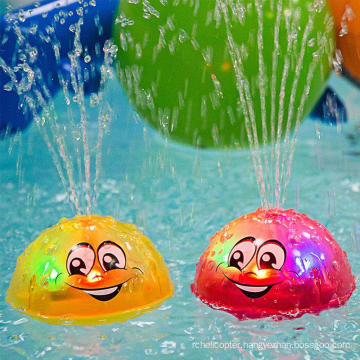 Water Spray Summer Gift Fun Time Bath Toys Light Up for Baby