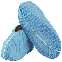 Tampa de sapato de higiene descartável para uso médico