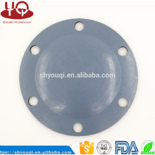 Nonstandard customized fabric reinforced diaphragm rubber seal gasket