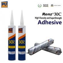 black windshield adhesive sealant