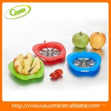 Maçã em forma de cortador de maçã