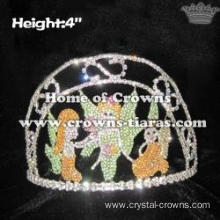 Crystal Fairy Custom Pageant Crowns