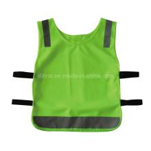 Camada de segurança reflecitve de alta visibilidade infantil (DFV1096)