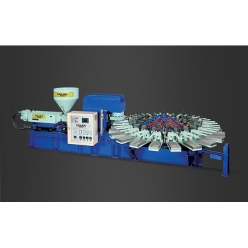 Machine de moulage par injection d'air-soufflage de PVC de moule d'ouverture