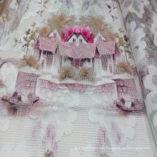 Polyester gedruckt Kleidungsstück / Home Textil Netzgewebe