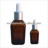 Square Glass Essential Bottles with Dropper from China Supplier