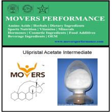 Acétate d'Ulipristal de haute qualité Intermédiaire avec N ° CAS: 54201-84-2