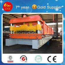Kaltrollenformmaschine, die Dach und Wandmetall herstellt (HKY)