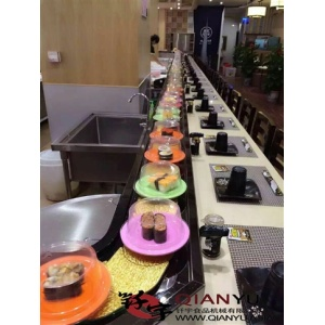 Automatización sushi Belt conveyor Machine