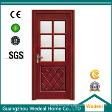 Melamine/PVC/MDF/Molded Fireproof Painting Wooden Interior Door