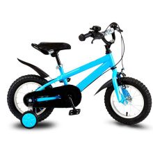 kids bicycle with training wheels and kettle for sale