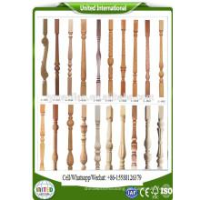 Handläufe aus Holz-Treppenspindeln