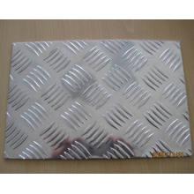 Aluminium-Blatt karierte Platte Diamant-Muster