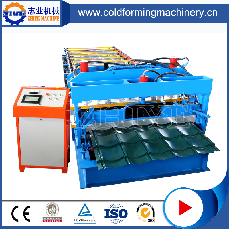 Glazed Tile Cold Forming Equipment