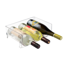 Wine Bottle Storage Rack for Kitchen Countertops