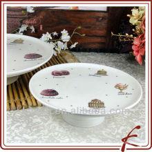 Suporte para bolo de cerâmica