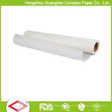 Papier fait sur commande de parchemin de silicone non-bâton fait sur commande pour des magasins de vente au détail