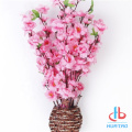 Artificiale Peach Blossom Tree Potted