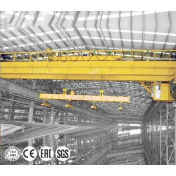 20T Overhead Bridge Crane with Magnetic Spreader