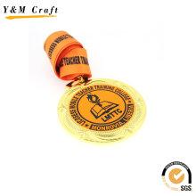 Médaille en métal de promotion adaptée aux besoins du client avec le logo (Q09547)