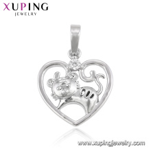 33389 animaux de la mode de couleur xuping rhodium forme série 12 pendentif du zodiaque chinois