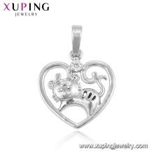 33389 xuping родий цвет мода животных форма серии 12 китайский кулон зодиака