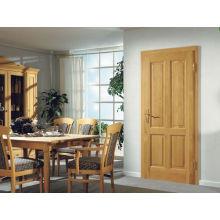Portas de madeira do painel do MDF do projeto da casa do estilo tradicional