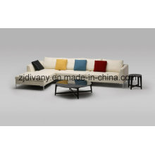 Home Sofa Living Room Modern Leather Sofa (D-71)
