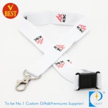 Hochwertige Werbeartikel Logo gedruckt Polyester Lanyard für Aktivität als Geschenk