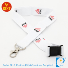 High Quality Promotional Customized Logo Printed Polyester Lanyard for Activity as Gift