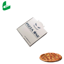 Caja de pizza colorida personalizada