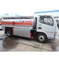 Dimensiones del camión de combustible de transporte diésel / petróleo / gasolina